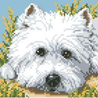 """Набор алмазной мозаики """"Взгляд щенка"""" (DM-007)"""