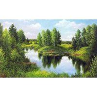 """Набор алмазной мозаики """"В отражении реки"""" (DM-033)"""