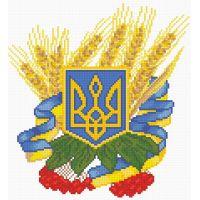 """Набор алмазной мозаики """"Герб Украины"""" (DM-057)"""