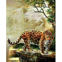 """Набор алмазной мозаики """"Леопард"""" (DM-063)"""