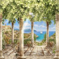 """Набор алмазной мозаики """"Греческий остров"""" (DM-090)"""