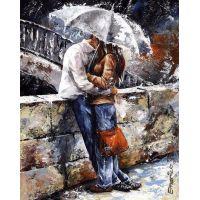 """Набор алмазной мозаики """"Влюбленные под дождем"""" (DM-133)"""