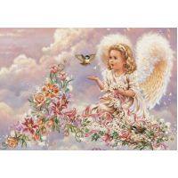 """Набор алмазной мозаики """"Ангел"""" (DM-141)"""
