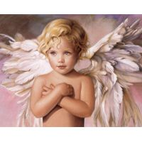 """Набор алмазной мозаики """"Голубоглазый ангел"""" (DM-153)"""