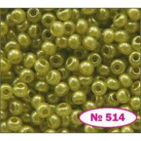 Бисер Preciosa 10/0  17786 / 514 (перламутровый) (17786-514)