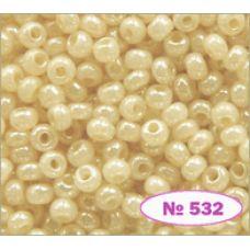 Бисер Preciosa 10/0  46113 / 532 (перламутровый)