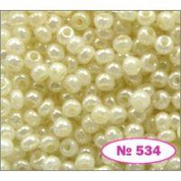 Бисер Preciosa 10/0  47102 / 534 (перламутровый) (47102-534)