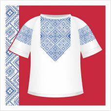 """Бумажная схема для вышивки """"Женская сорочка-вышиванка"""""""