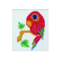 """Набор для вышивки бисером и крестом """"Попугай"""" (П1 003)"""