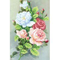 """Набор для вышивки бисером """"Утренние розы"""" (NB6-36)"""