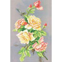 """Набор для вышивки бисером """"Ночные розы"""" (NB6-43)"""