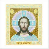 """Набор для вышивки бисером """"вприкреп"""" """"Иисус Христос"""" (ТН-0460)"""