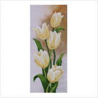 """Набор для вышивки бисером """"Белые тюльпаны"""" (ТН-0503)"""