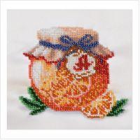"""Набор для вышивки бисером """"Апельсиновый джем"""" (ТН-0585)"""