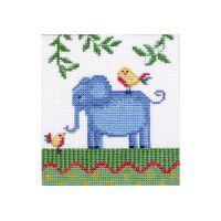 """Набор для вышивки крестом """"Африка. Слон"""" (П1 006)"""