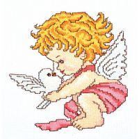 """Набор для вышивки крестом """"Ангел мира"""" (П1 029)"""