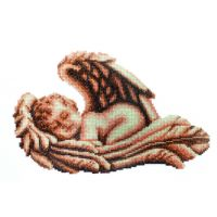 """Набор для вышивки крестом """"Спящий ангел"""" (П2 007)"""