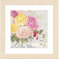 """Набор для вышивки крестом """"Цветы в вазе"""" (Flowers in vase)"""