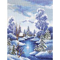"""Набор для вышивки крестом """"Зима"""" (П5 017)"""