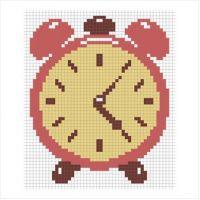 """Набор для вышивки крестом """"Часы"""" (М-0019)"""