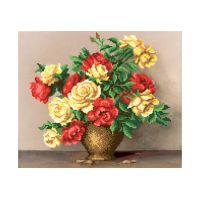 """Схема для вышивки бисером """"Букет роз"""" (Б6 18)"""