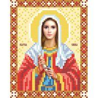 """Схема для вышивки бисером """"Икона """"Святая Эмилия"""" (B3-108)"""