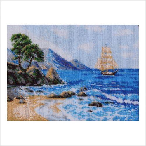 Вышивка бисером морской пейзаж