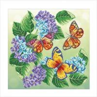 """Схема для вышивки бисером """"Бабочки"""" (Т-0757)"""