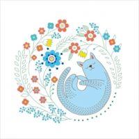 """Схема для вышивки декоративными швами """"Гармония"""" (ТМ-0773)"""
