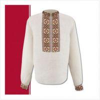 Заготовка мужской сорочки-вышиванки (размер 44-56) (СЧТ-001)