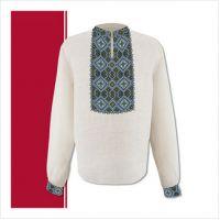 Заготовка мужской сорочки-вышиванки (размер 44-56) (СЧТ-003)