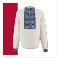 Заготовка мужской сорочки-вышиванки (размер 44-56) (СЧТ-004)