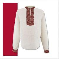 Заготовка мужской сорочки-вышиванки (размер 44-56) (СЧТ-005)