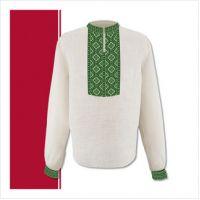 Заготовка мужской сорочки-вышиванки (размер 44-56) (СЧТ-006)