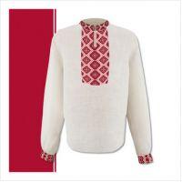 Заготовка мужской сорочки-вышиванки (размер 44-56) (СЧТ-007)