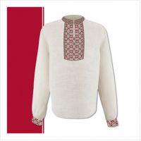 Заготовка мужской сорочки-вышиванки (размер 44-56) (СЧТ-008)