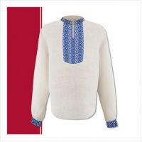 Заготовка мужской сорочки-вышиванки (размер 44-56) (СЧТ-009)