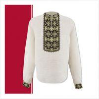 Заготовка мужской сорочки-вышиванки (размер 44-56) (СЧТ-013)