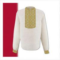 Заготовка мужской сорочки-вышиванки (размер 44-56) (СЧТ-014)