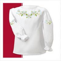 Заготовка сорочки-вышиванки для девочки (размер 26-28) (СДТ1-001)
