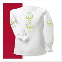 Заготовка сорочки-вышиванки для девочки (размер 26-28) (СДТ1-002)