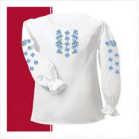 Заготовка сорочки-вышиванки для девочки (размер 26-28) (СДТ1-003)