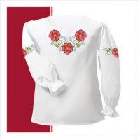 Заготовка сорочки-вышиванки для девочки (размер 26-28) (СДТ1-004)