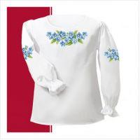 Заготовка сорочки-вышиванки для девочки (размер 26-28) (СДТ1-005)