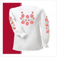 Заготовка сорочки-вышиванки для девочки (размер 26-28) (СДТ1-006)