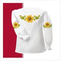 Заготовка сорочки-вышиванки для девочки (размер 26-28) (СДТ1-007)