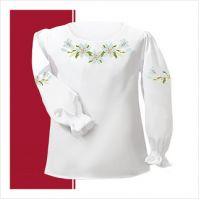 Заготовка сорочки-вышиванки для девочки (размер 30-34) (СДТ2-001)