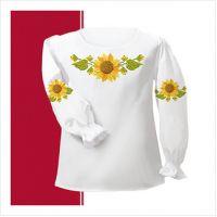 Заготовка сорочки-вышиванки для девочки (размер 30-34) (СДТ2-007)