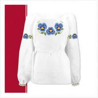 Заготовка сорочки-вышиванки для девочки (размер 36-44) (СДТ3-002)