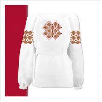Заготовка сорочки-вышиванки для девочки (размер 36-44) (СДТ3-003)